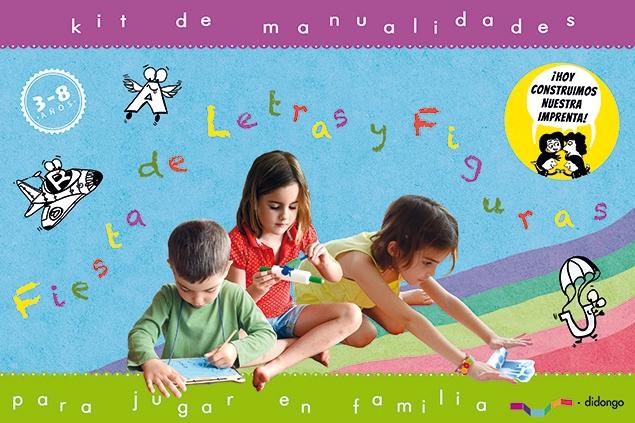 Fiesta de letras y figuras